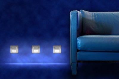 lampy w podłodze