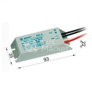 Skoff, zasilacz LED ZOL6 10V 6W